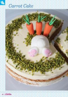 Rezept - Carrot Cake - Das große Backen 03/2019