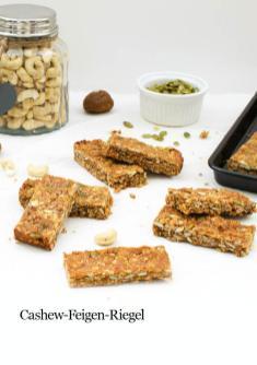 Rezept - Cashew-Feigen-Riegel - Healthy Vegan 03/2019