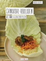 Rezept - Chinakohl-Rouladen mit Hummus & gebratenen Pilzen - Simply Kochen Sonderheft Basenfasten mit Andrea Sokol