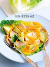 Rezept - Curry-Hähnchen-Salat - Bewusst Low Carb Sonderheft Keto