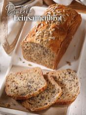Rezept - Dinkel-Leinsamenbrot - Simply Backen Sonderheft – Brote und Brötchen mit dem Thermomix® 02/2019