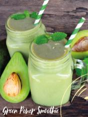 Rezept - Green-Power-Smoothie - Bewusst Low Carb