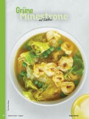 Rezept - Grüne Minestrone mit Tortellini - Simply Kochen Sonderheft - Suppen und Eintöpfe - 01/2019