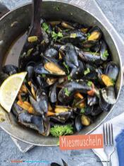 Rezept - Miesmuscheln - Simply Kochen Sonderheft - Ernährung in der Schwangerschaft - mit Nina Kämpf von Mamaaempf
