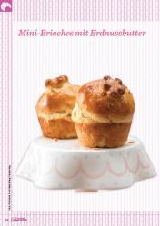 Rezept - Mini-Brioches mit Erdnussbutter - Das große Backen 03/2019