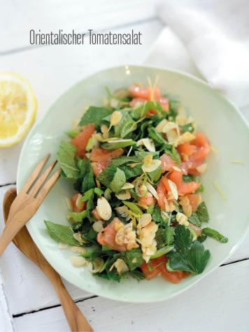 Rezept - Orientalischer Tomatensalat - Bewusst Low Carb Sonderheft Keto