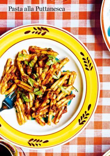 Rezept - Pasta alla Puttanesca - Healthy Vegan 03/2019