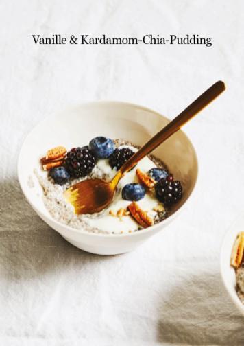 Rezept - Vanille-Kardamom-Chia-Pudding - Healthy Vegan 04/2019