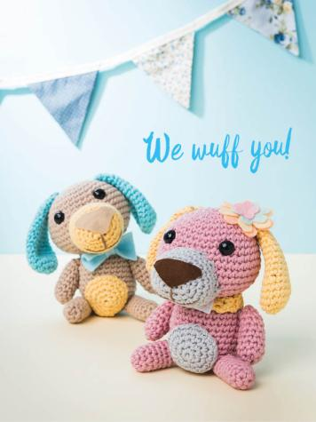 Häkelanleitung - We wuff you! - Best of Simply Häkeln Amigurumi Vol. 3