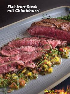 Rezept - Flat-Iron-Steak mit Chimichurri - Simply Kochen Sonderheft Besser Grillen mit den Grillweltmeisten