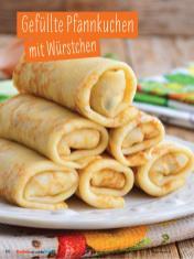 Rezept - Gefüllte Pfannkuchen mit Würstchen - Simply Kochen mit und für Kinder - mit Nina Kämpf von Mamaaempf