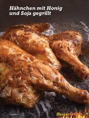 Rezept - Hähnchen mit Honig und Soja gegrillt - Simply Kochen Sonderheft Besser Grillen mit den Grillweltmeisten