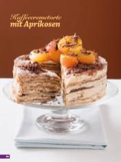 Rezept - Kaffeecremetorte mit Aprikosen - Simply Backen Sonderheft Kühlschranktorten ohne Backen