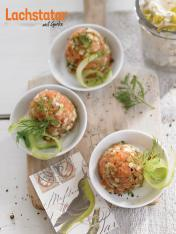 Rezept - Lachstatar mit Gurke - Simply Kochen Sonderheft So schmeckt der Frühling
