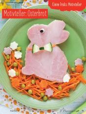 Rezept - Motivteller Osterbrot - Simply Kochen mit und für Kinder - mit Nina Kämpf von Mamaaempf