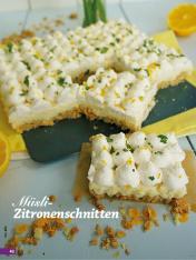 Rezept - Müsli-Zitronenschnitten - Simply Backen Sonderheft Kühlschranktorten ohne Backen