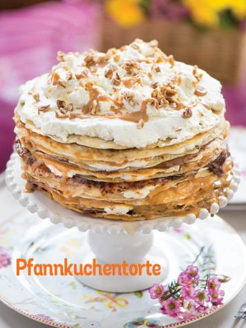 Rezept - Pfannkuchentorte - Simply Kochen Sonderheft So schmeckt der Frühling