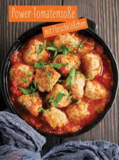 Rezept - Power-Tomatensoße mit Fleischklößchen - Simply Kochen mit und für Kinder - mit Nina Kämpf von Mamaaempf