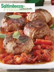 Rezept - Saltimbocca-Frikadellen auf Schmortomaten - Simply Kochen Sonderheft So schmeckt der Frühling