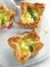 Rezept - Spargel-Mascarpone-Tartelettes - Simply Kochen Special Spargel