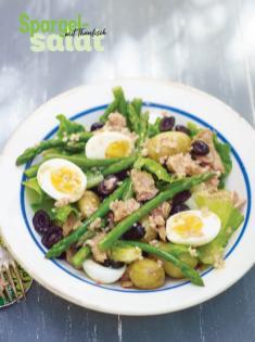 Rezept - Spargel-Salat mit Thunfisch - Simply Kochen Special Spargel