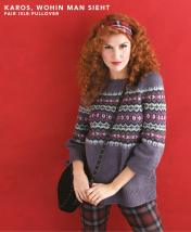 Strickanleitung - Karos wohin man sieht - Fair-Isle-Pullover - Designer Knitting - 03/2019