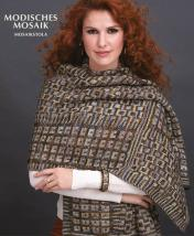 Strickanleitung - Modisches Mosaik - Mosaikstola - Designer Knitting - 03/2019