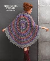 Strickanleitung - Modisches Mosaik - Runde Stola - Designer Knitting - 03/2019