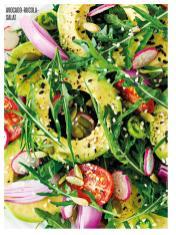 Rezept - Avocado-Rucola-Salat - Bewusst Low Carb – 05/2019