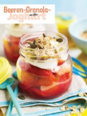 Rezept - Beeren-Granola-Joghurt im Glas - Simply Kochen Picknick - 03/2019