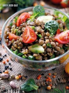 Rezept - Bunter-Linsen-Salat - Bewusst Low Carb – 05/2019