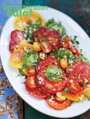 Rezept - Gartentomaten-Salat - Simply Kochen Sonderheft Salate to go