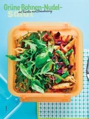 Rezept - Grüne-Bohnen-Nudel-Salat mit Tomaten und Olivendressing - Simply Kochen Sonderheft Salate to go