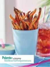 Rezept - Polenta-Süßkartoffelpommes mit Kräuterdrip - Simply Kochen Picknick - 03/2019
