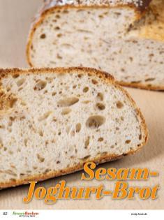 Rezept - Sesam-Joghurt-Brot - Brote Backen mit Tommy Weinz - 02/2019