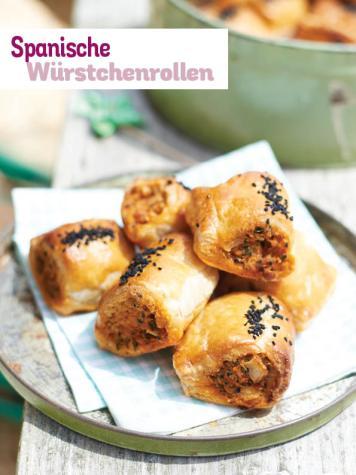 Rezept - Spanische Würstchenrollen - Simply Kochen Picknick - 03/2019