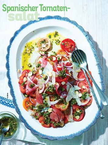 Rezept - Spanischer-Tomaten-Salat - Simply Kochen Sonderheft Salate to go
