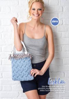 Strickanleitung - Eisblau - Simply Stricken - 04/2019