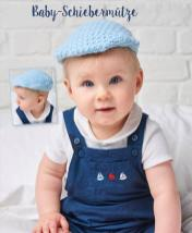 Häkelanleitung - Baby-Schiebermütze - Mini Häkeln Mützen und Stirnbänder Vol. 10
