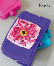 Häkelanleitung - Gerbera - Mini Granny-Blumen häkeln Vol. 9