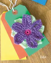Häkelanleitung - Lilie - Mini Granny-Blumen häkeln Vol. 9