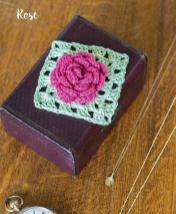 Häkelanleitung - Rose - Mini Granny-Blumen häkeln Vol. 9