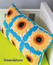 Häkelanleitung - Sonnenblume - Mini Granny-Blumen häkeln Vol. 9