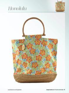 Nähanleitung - Honolulu - Simply Kreativ Best of Taschen-Näh-Ideen