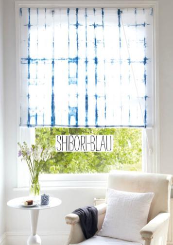 Nähanleitung - Shibori-Blau - Simply Nähen 04/2019