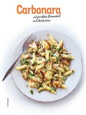 Rezept - Carbonara mit geröstetem Blumenkohl und Haselnüssen - Simply Kochen Sonderheft Nudeln