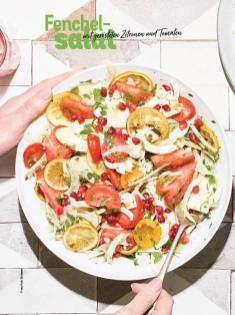 Rezept - Fenchelsalat mit gerösteten Zitronen und Tomaten - Simply Kochen Sonderheft Sommer-Salate