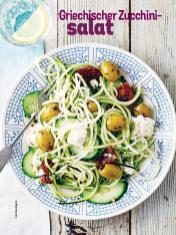 Rezept - Griechischer Zucchinisalat - Simply Kochen Sonderheft Sommer-Salate