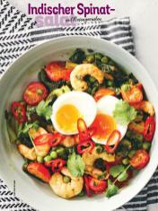 Rezept - Indischer Spinatsalat mit Riesengarnelen - Simply Kochen Sonderheft Sommer-Salate