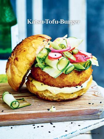 Rezept - Katsu-Tofu-Burger - Healthy Vegan Sonderheft - Sommerspecial